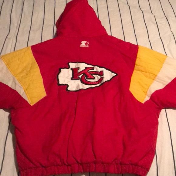 1a44d6e507f Kansas City Chiefs Starter Vintage Jacket 💥 XL. M_5b594e3d5fef371c413ed859